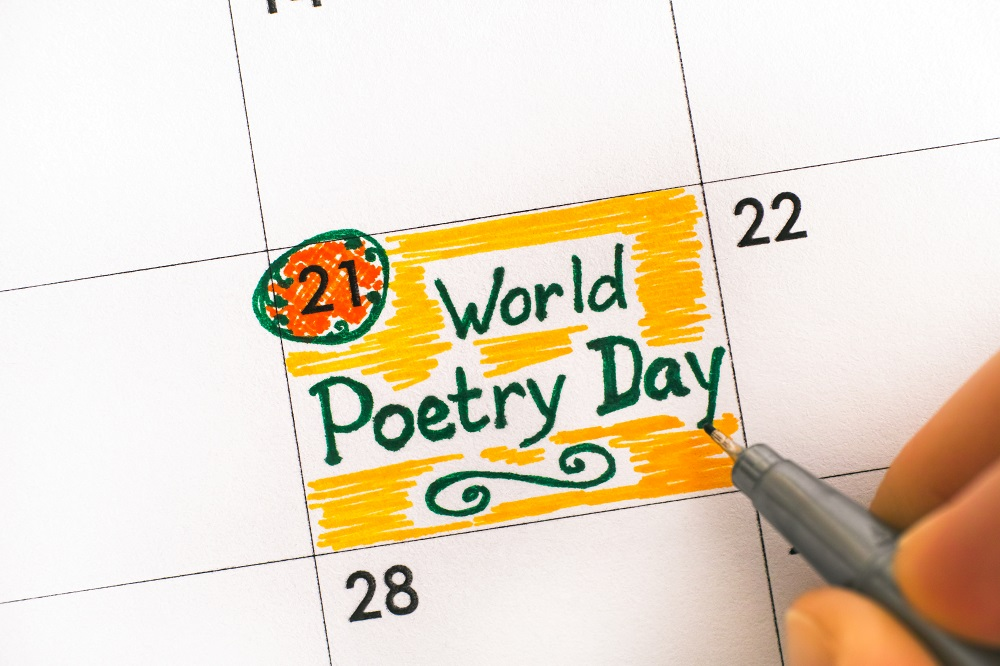 World Poetry Day: 21 March 2020