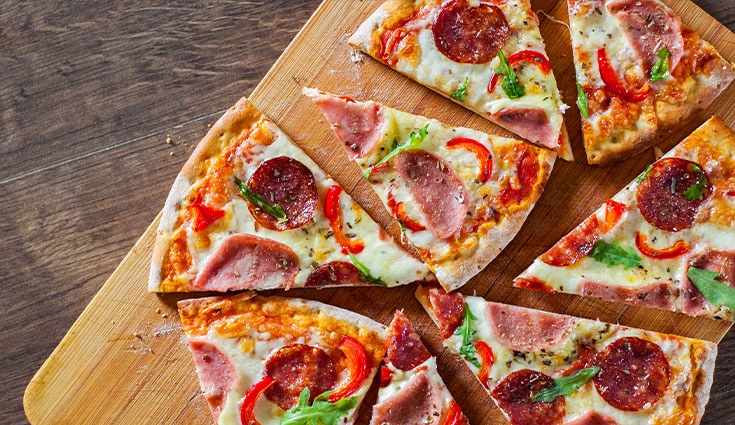 Grab a slice of pizza in Sandton Central!